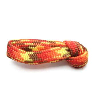 Faldskærmsline Orange/gul/rød/brun 1 m