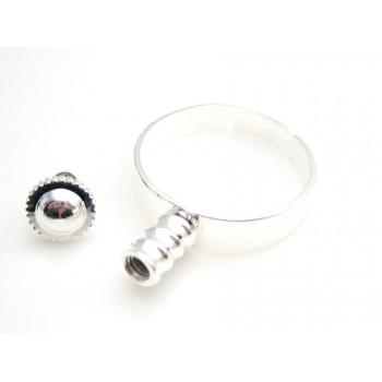 Lækker ring sølv ONE SIZE - til at sætte led på