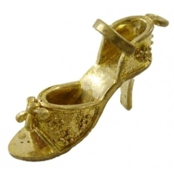 Guld sko 22 mm