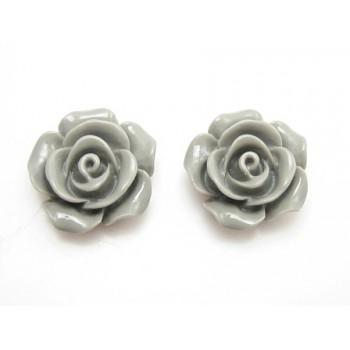 Roser grå 14 mm - 1 par