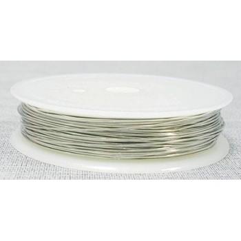Vikletråd 0,4 mm sølv - 9 m