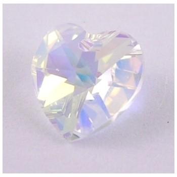 Swarowski krystal hjerter 10 mm  - 2 stk