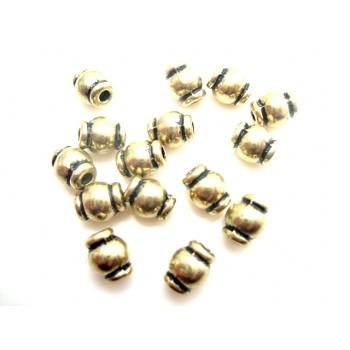 Guldperle 6 / 1,8 mm -15 stk