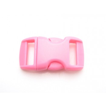 Snap lukning 29 x 16 mm - pink