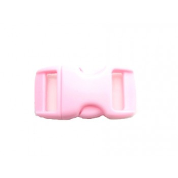 Snap lukning 29 x 16 mm - rosa