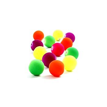 Neon perler 12 / 3 mm - 10 stk
