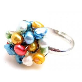 Ringe med små perler
