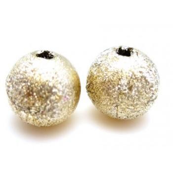 Silkebørstet lys guld perle...