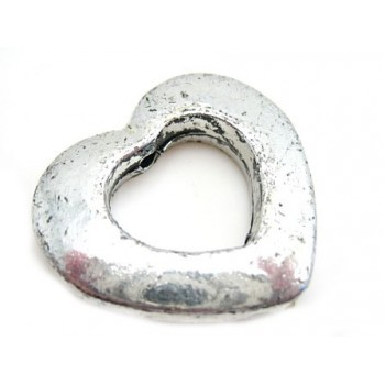 Sølv hjerte 30mm