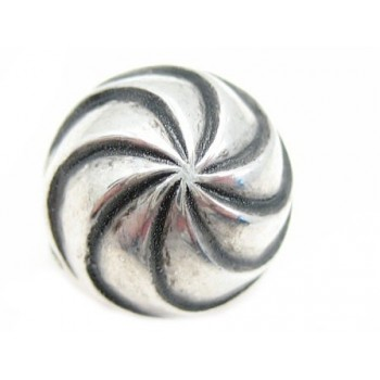 Sølv belagt perle med...