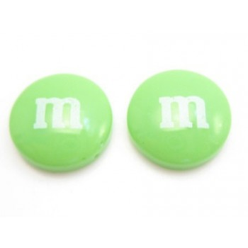 M & M 14 mm lime - 2 stk