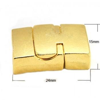 Rustik magnet lås - guld -...