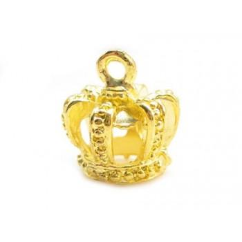 Konge krone 15 x 12 mm guld