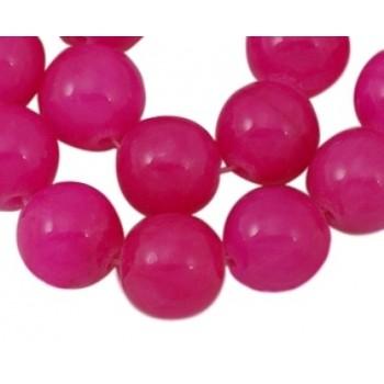 Jade pink 10 mm - 8 stk