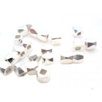 Nugget 3,5 / 1,5 mm sølv -...