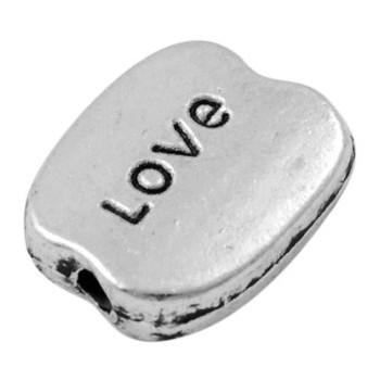 Perle LOVE sølv 10 / 1,5 -...