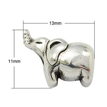 Elefant 13 / 4,5 mm sølv