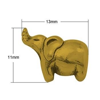 Elefant 13 / 4,5 mm guld