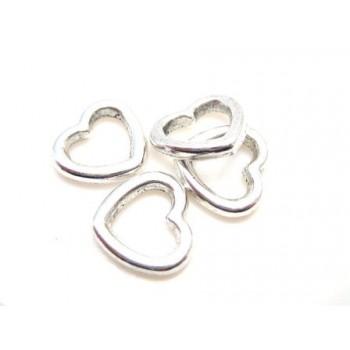 Hjerte 10 mm - 4 stk