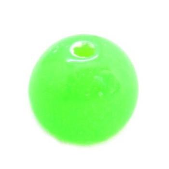 Neon perler grøn 8 /1,2 mm...