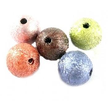 Silkebørstet perle mix 10...