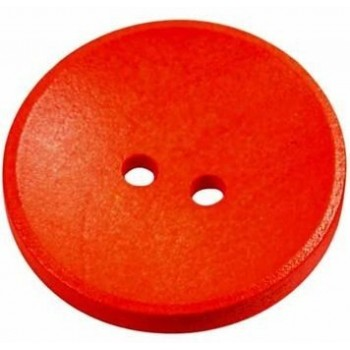 Neon orange knap - 26 mm