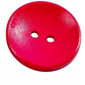 Neon pink knap - 26 mm