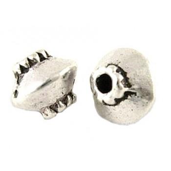 Tibet antik sølv perle 5 mm...