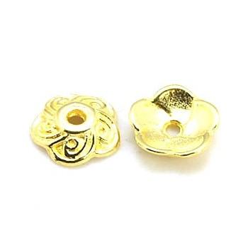 Perleskål guld 9 / 2,5 mm - 14 stk