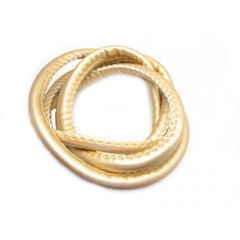 Randsyet / kantsyet IMIT guld 5,5 mm - 1 m - SUPERTILBUD