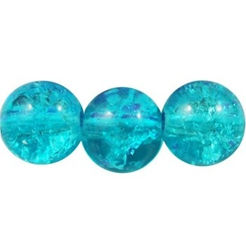 Krakeleret perle 8 mm...