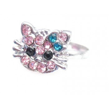Hello Kitty finger ring -...