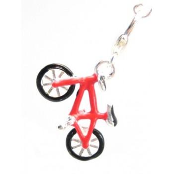 Cykel vedhæng med hjerte...