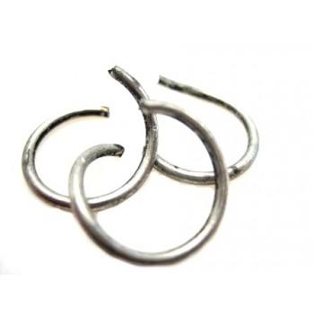 O-Ringe i antik sølv 12 /...