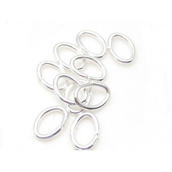 Oval o-ring 5,5  x 4 mm - 20 stk