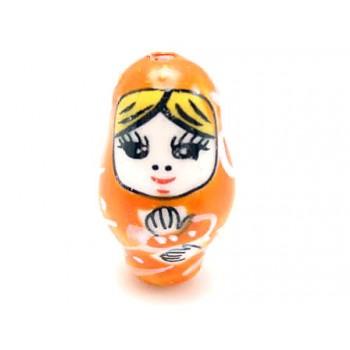 Babushka orange 25mm