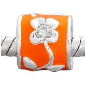 Led / Charms med orange...