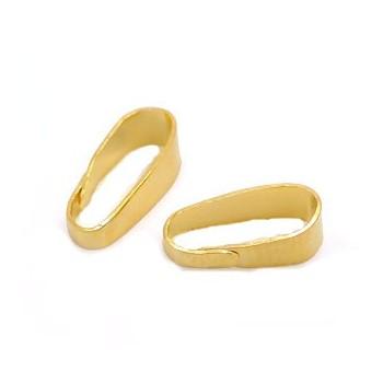 Øsken guld 11 x 4 mm - 10 stk