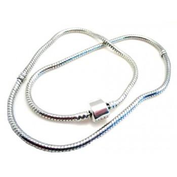 Halskæde til led 40 cm - stål