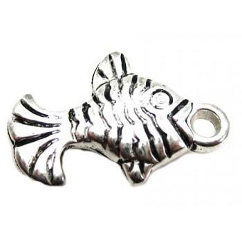 Sølv fisk 21 mm
