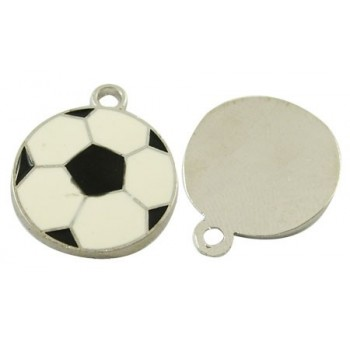 Foldbold med emalje 22 mm - 2 stk