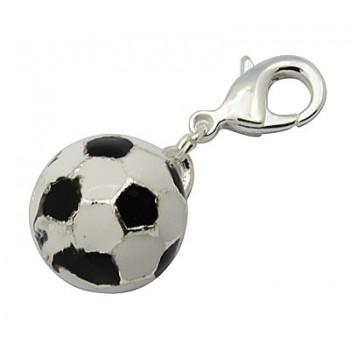 Foldbold med emalje og karabin lås