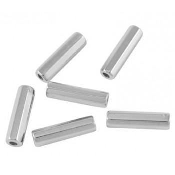 Sølv perle 12 mm - 40 STK
