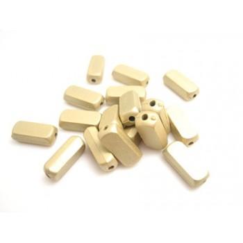Guld mat perle 10 mm - 40 STK