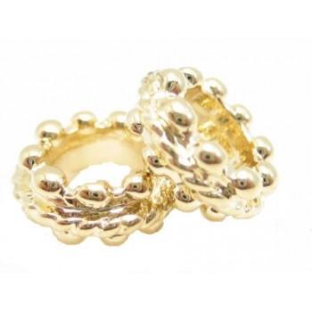 Flotte perler med stort hul 9 / 5 mm - 2 stk
