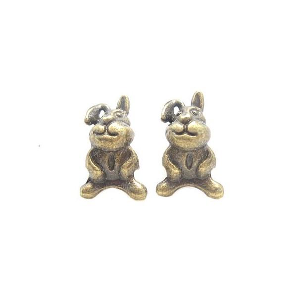 Harer / kaniner 5 mm hul - 2 stk