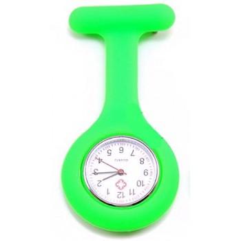 Sygeplejer ur med silikone Grøn 38 mm