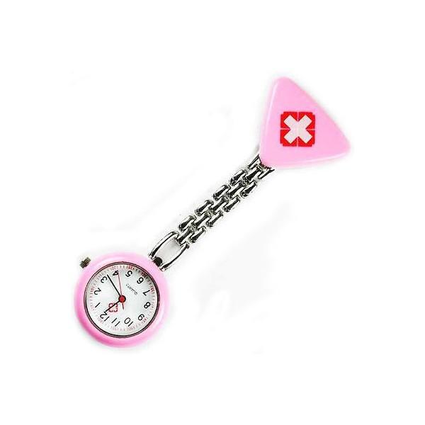 Sygeplejer ur med rødt kors rosa