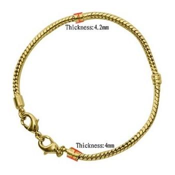 Armbånd til charms 18,5 cm...