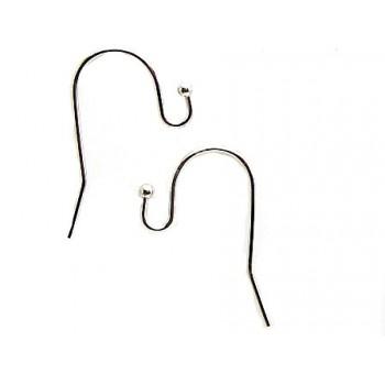 Smart look sølv bel. øreringe 1 PAR